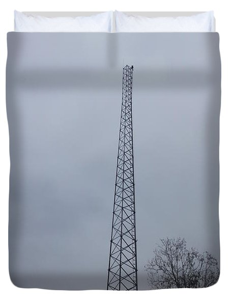 Towers Of Tennessee Duvet Cover