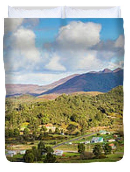 Town Of Zeehan Australia Duvet Cover
