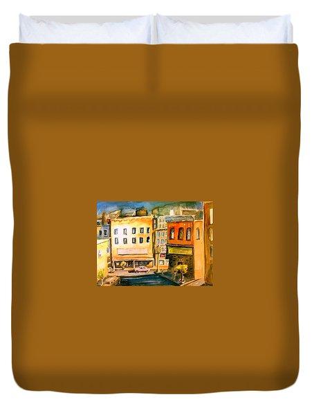 Town Duvet Cover