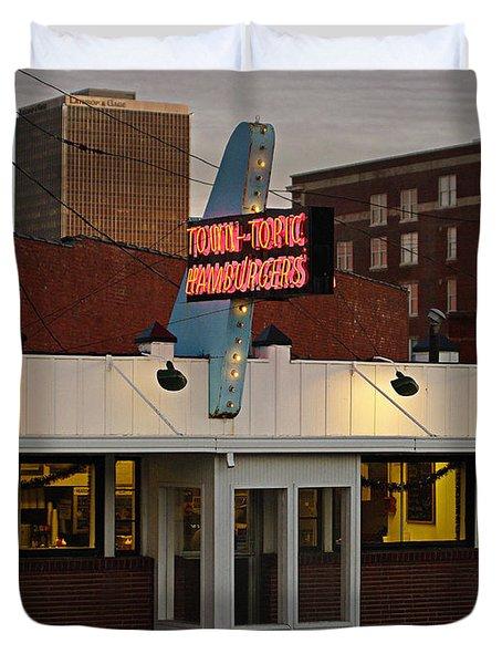 Town Topic Duvet Cover