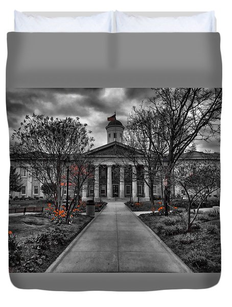 Towson Courthouse Duvet Cover