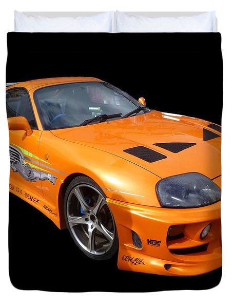 Toyota Supra Duvet Cover