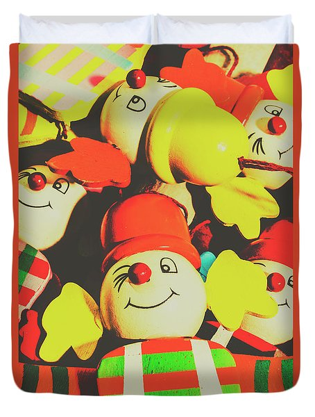 Toys From Old Play Duvet Cover