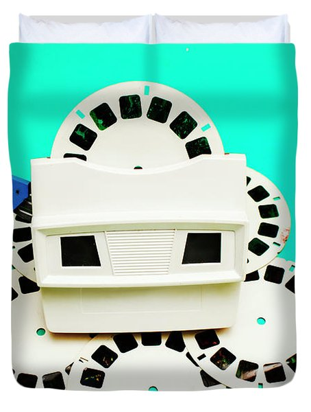 Toys From The 1980s Duvet Cover
