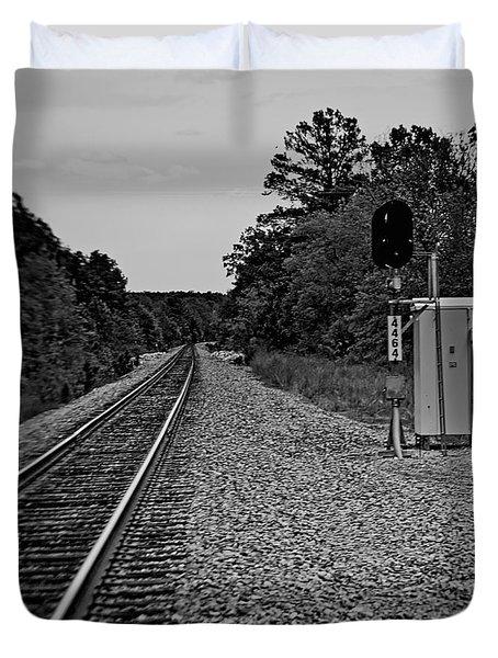 Tracks Duvet Cover