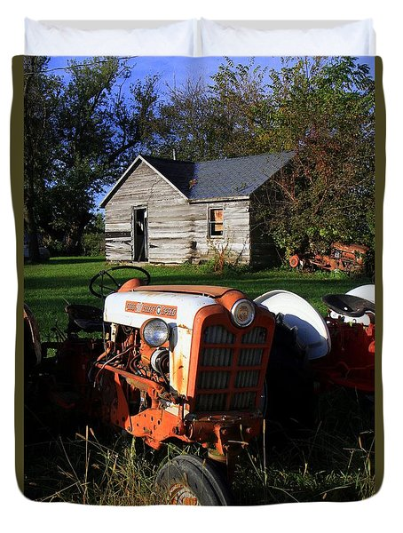 Tractor And Shed Duvet Cover