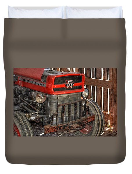 Tractor Grill  Duvet Cover