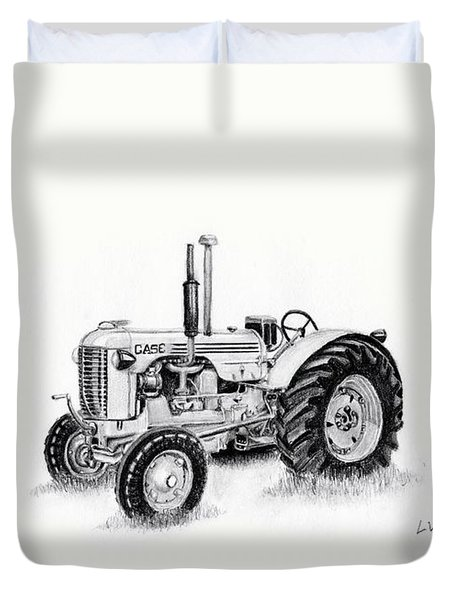 Case Tractor Duvet Cover