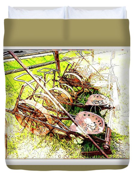 Tractor Seats Duvet Cover