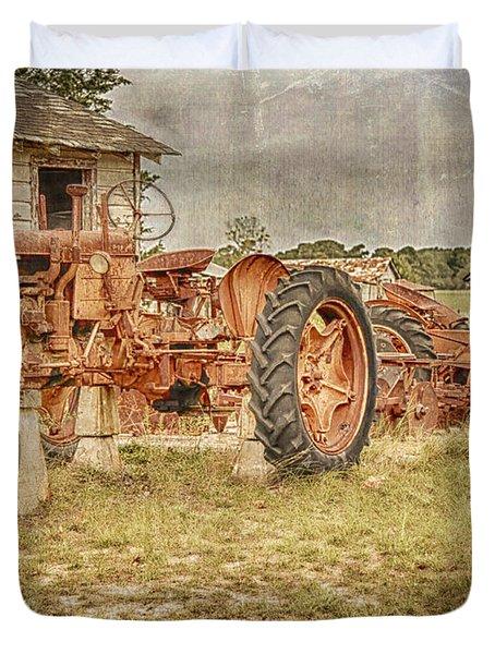 Tractors Duvet Cover