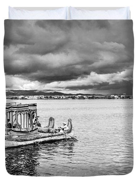 Traditional Boat Duvet Cover