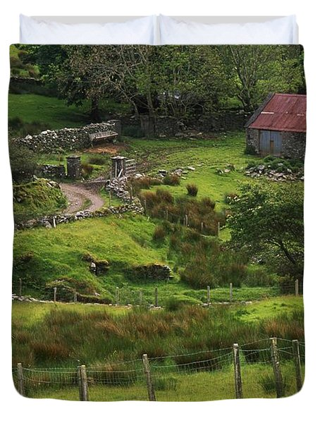 Traditional Cottages, Dan Oharas Duvet Cover