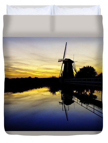 Traditional Dutch Duvet Cover by Chad Dutson