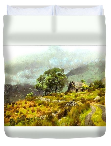 Traditional Ireland Duvet Cover