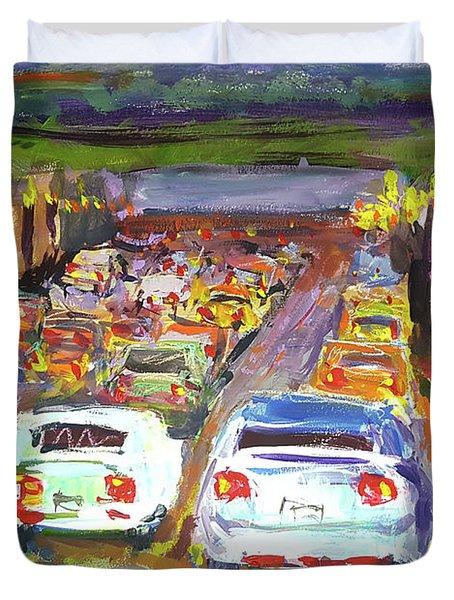 Traffic Jam Duvet Cover