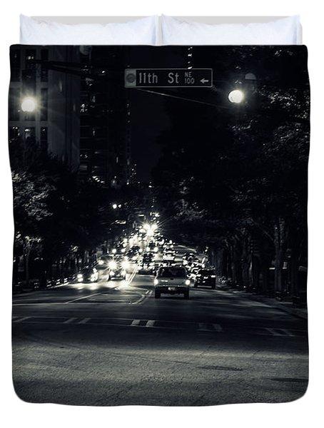 Traffic Duvet Cover