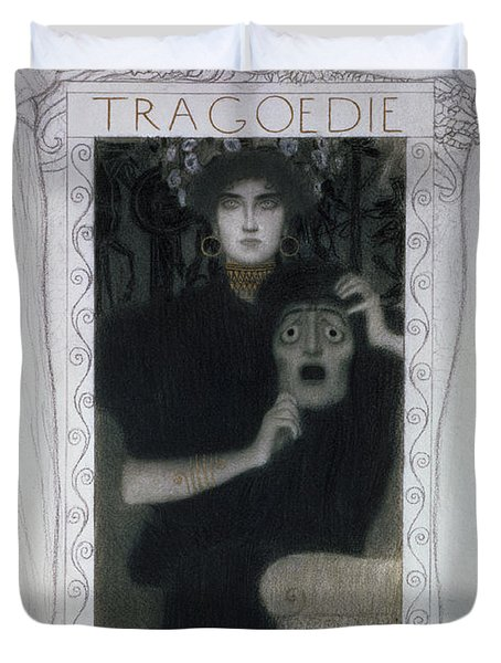 Tragedy, 1897  Duvet Cover