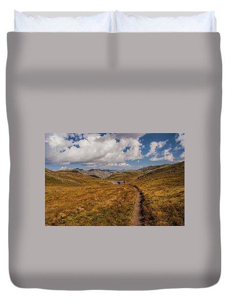 Trail Dancing Duvet Cover