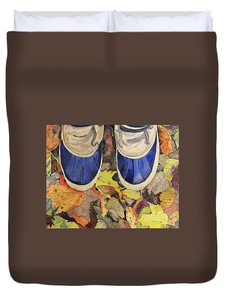 Trail Mix Duvet Cover