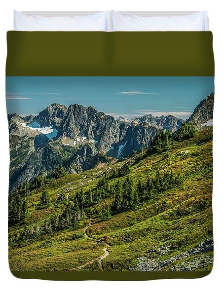 Trail Roaming Duvet Cover