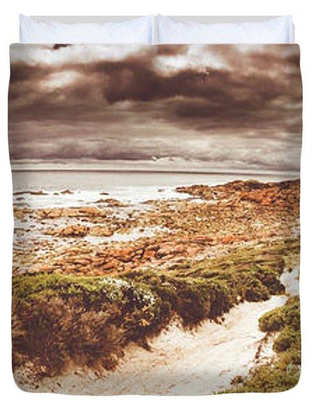 Trail To Western Tasmania Duvet Cover