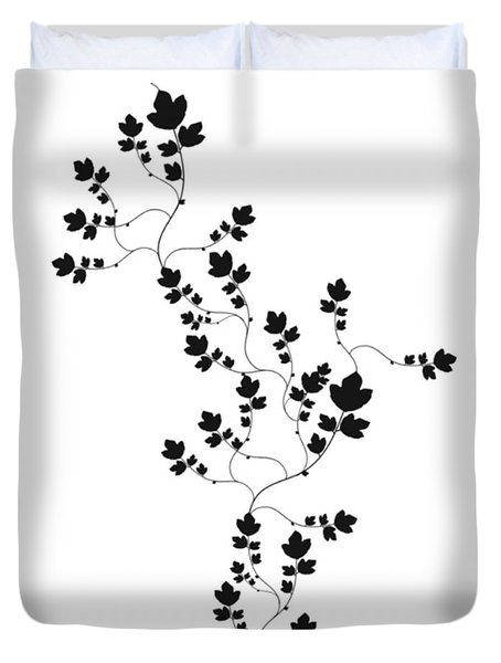 Trailing Leaves Duvet Cover