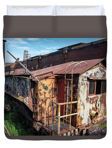 Train 6 In Color Duvet Cover