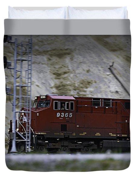 Train 9365 Duvet Cover
