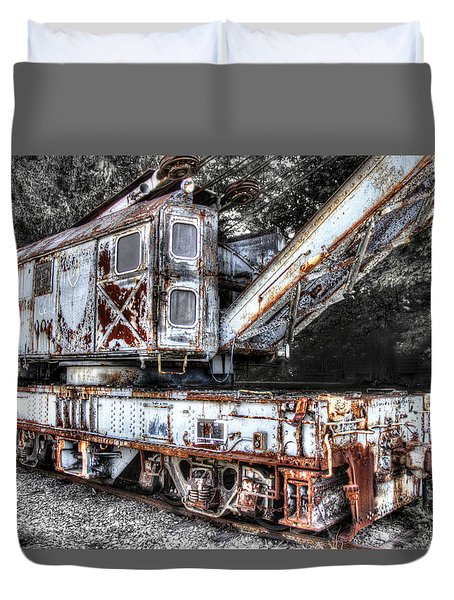 Train Crane 2 Duvet Cover