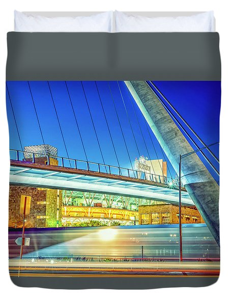 Train Keeps A Rollin Duvet Cover