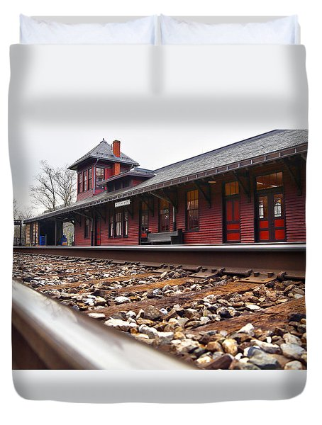 Train Station Duvet Cover