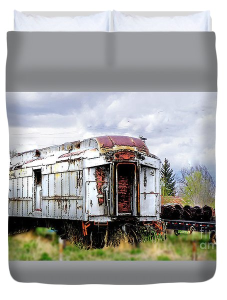Train Tootoot Duvet Cover