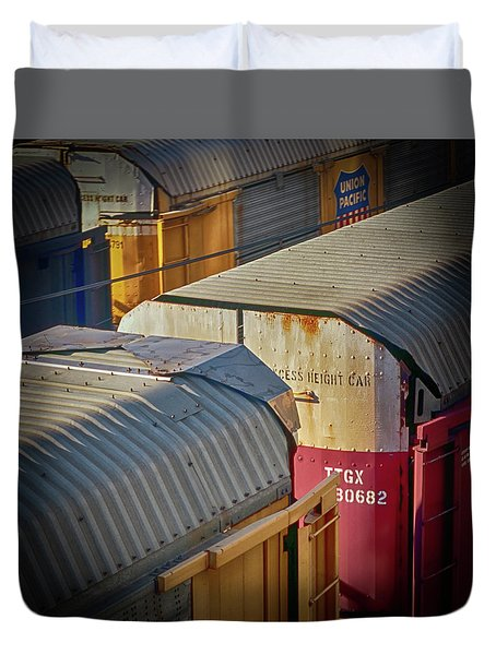 Trains - Nashville Duvet Cover