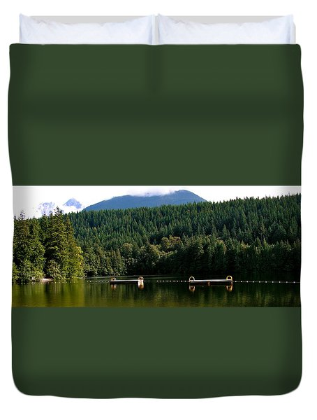 Tranquil Alice Lake Duvet Cover