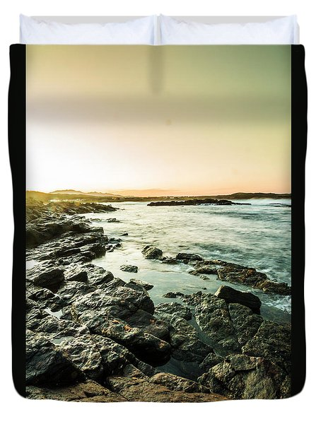 Tranquil Cove Duvet Cover