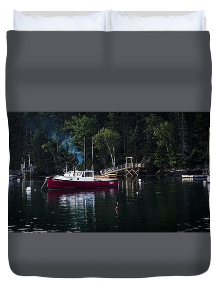 Tranquil Morning Duvet Cover