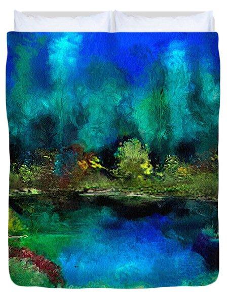 Tranquil Pond Duvet Cover