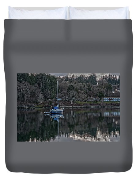 Tranquility 9 Duvet Cover by Timothy Latta