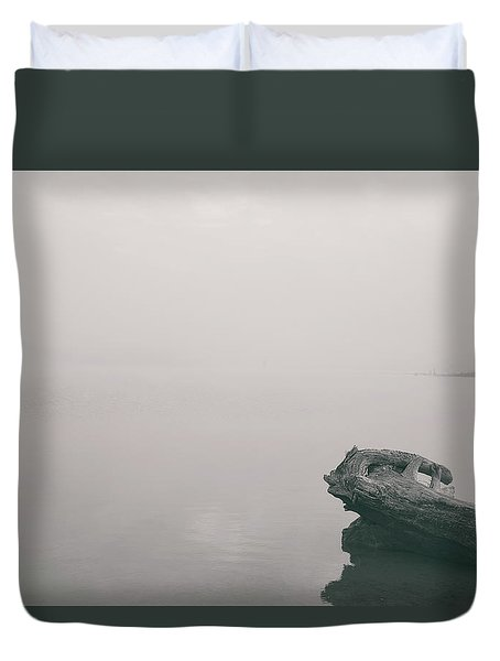 Tranquility By The River Duvet Cover