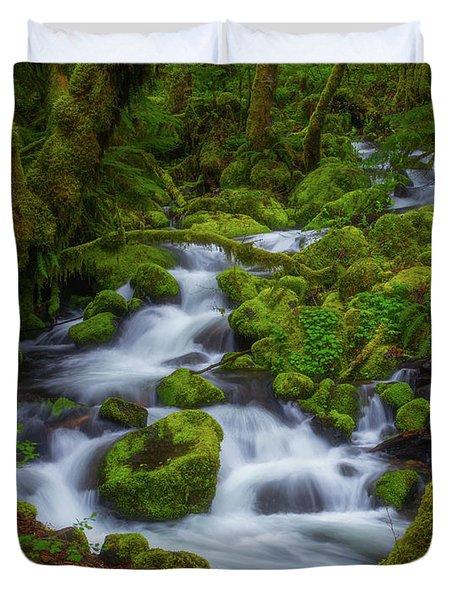 Tranquility Creek Duvet Cover