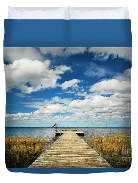 Tranquility Found Duvet Cover