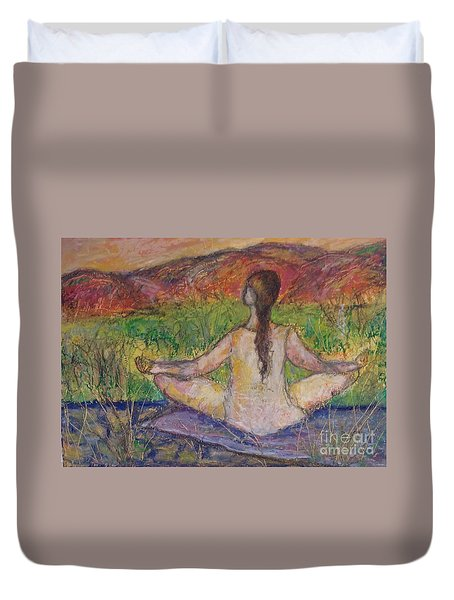 Tranquility Duvet Cover by Gail Butters Cohen