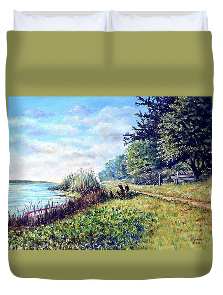Tranquility Duvet Cover by Heidi Kriel