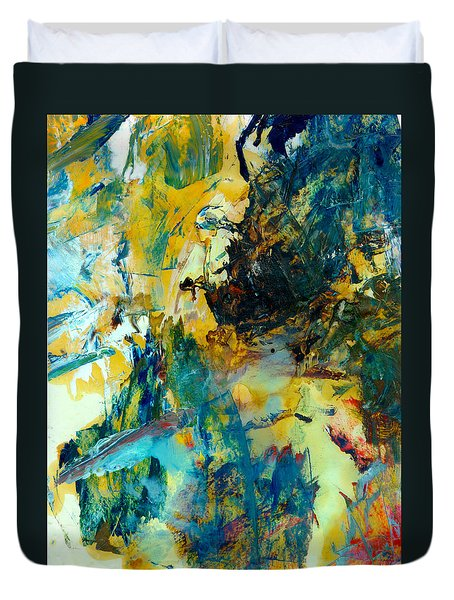 Tranquility Man #307 Duvet Cover by Donald k Hall