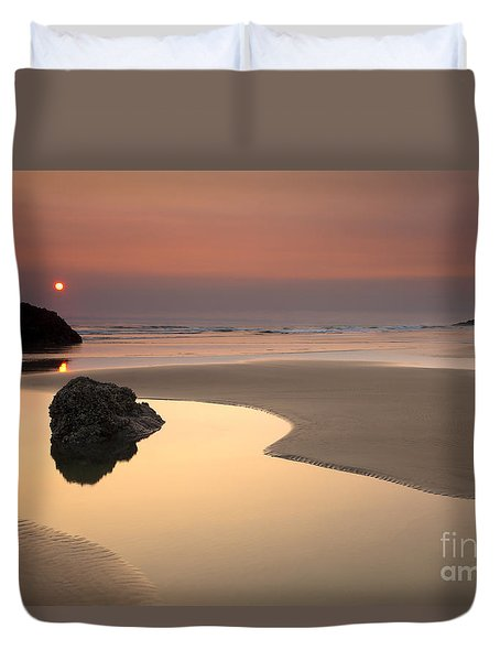 Tranquility Duvet Cover by Mike  Dawson