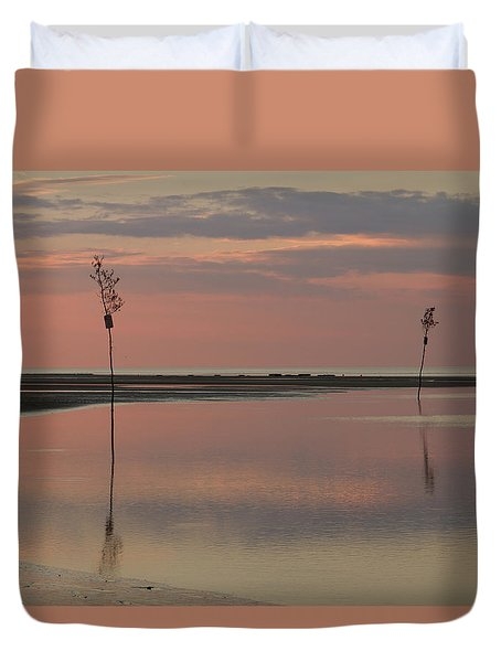 Tranquility  Duvet Cover by Patrice Zinck