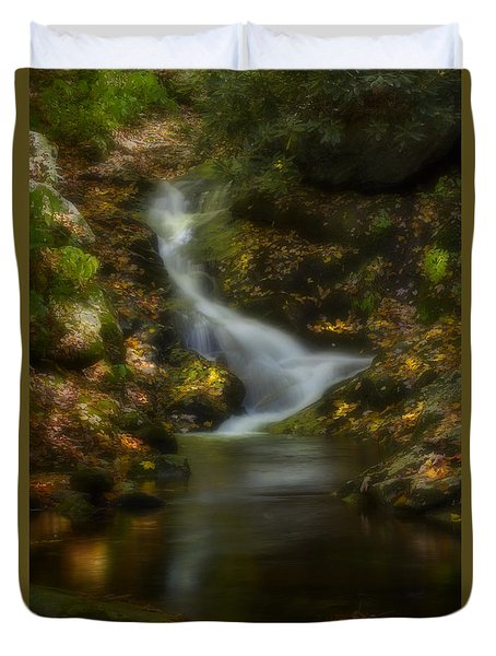 Duvet Cover featuring the photograph Tranquility by Ellen Heaverlo