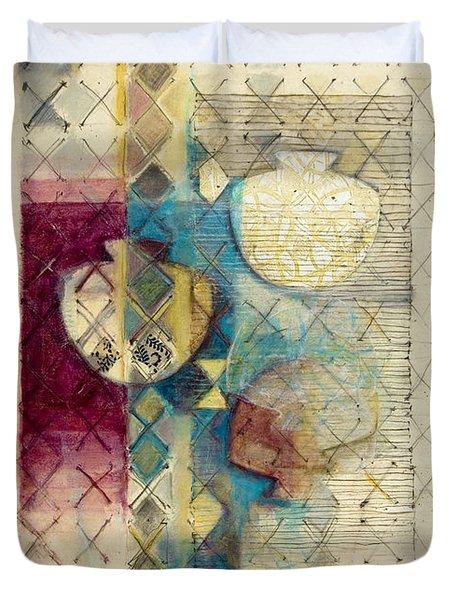 Trans Xs No 1 Duvet Cover by Kerryn Madsen- Pietsch