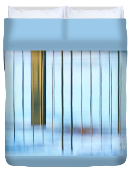 Duvet Cover featuring the photograph Transcendental... by Nina Stavlund