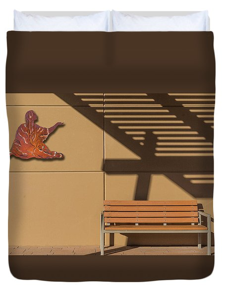 Duvet Cover featuring the photograph Transcendental by Paul Wear